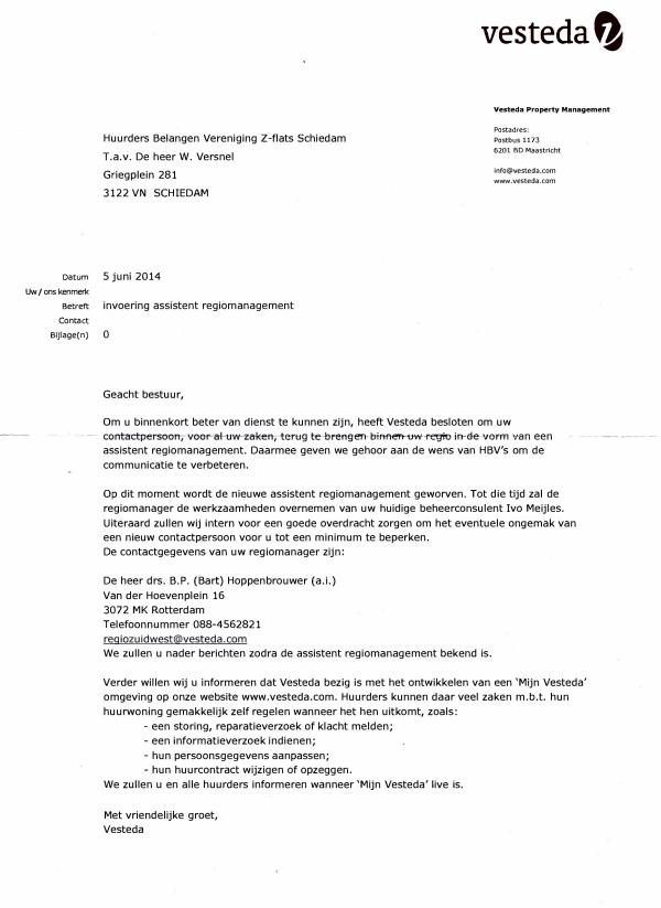 circulaire brief voorbeeld Voorbeeld Circulaire Brief | gantinova